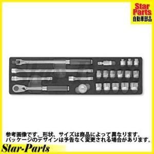6角スタンダードソケット 3/8inch(9.5mm)差込角 3286Z Z-EAL セット KOKEN|star-parts