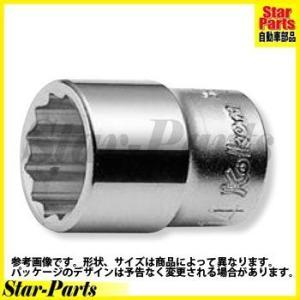 12角スタンダードソケット(25mm) 3/8inch(9.5mm)差込角 3405M-25 ハンドソケット ソケット KOKEN(山下工業)|star-parts