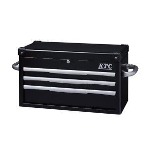 トップチェスト(3段3引出し)(ブラック) EKR-1003BK KTC|star-parts