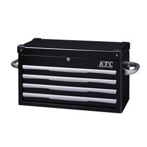 トップチェスト(4段4引出し)(ブラック) EKR-1004BK KTC|star-parts