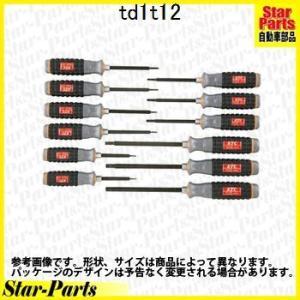 樹脂柄T型トルクスドライバセット 12本組 TD1T12 KTC|star-parts