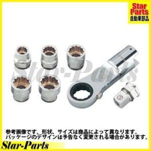 ラチェットめがねヘッドセット TGX13MR147 KTC(京都機械工具)|star-parts