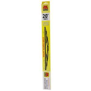 ワイパーブレード Uクリップタイプ用 (6mmx500mm) 高品質 PB|star-parts