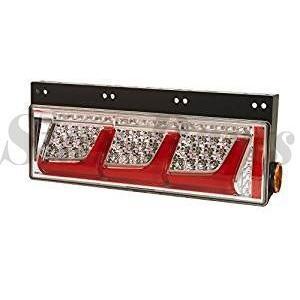 LED テールランプ 大・中型トラック用 (3連) オール LED リア コンビ シーケンシャルターン仕様 右 LEDRCL-24RS 4961065211786|star-parts
