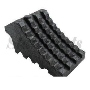 ハイプラ歯止め  黒  反射付 (ニコー) 日本ボデーパーツ工業 JB JBPRO NBI