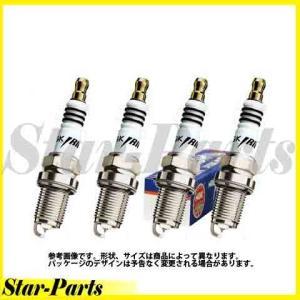イリジウムIXプラグ インプレッサ GC8 GF8 EJ20 用 4本セット BKR6EIX スバル NGK|star-parts