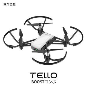 Ryze Tech Tello DJI ドローン カメラ付き 小型 空撮 スマホ ラジコン トイドロ...