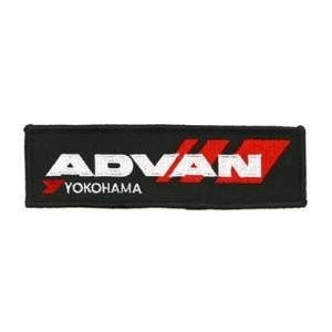 ADVAN アドバン ワッペン Sサイズ 4cm×12cm|star5