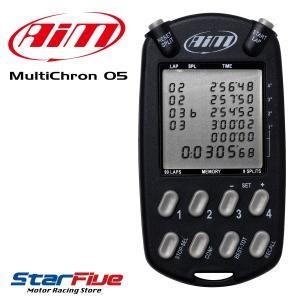 AIM/エイム ストップウォッチ Multicron05 4台同時計測可能|star5
