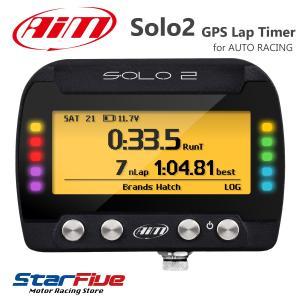 Aim SOLO2 GPSラップタイマー計測器 データーロガー 4輪/バイク/汎用(エーアイエム ソロ2)|star5