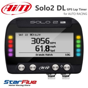 Aim SOLO2 DL GPSラップタイマー計測器 データーロガー 4輪/バイク/汎用(エーアイエム ソロ2)|star5