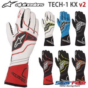 アルパインスターズ レーシンググローブ カート用 外縫い TECH1-KX v2 alpinestars 2020年モデル|star5