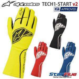 アルパインスターズ レーシンググローブ 4輪用 内縫い TECH1-START v2 FIA2018公認 alpinestars 2020年モデル|star5