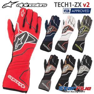 アルパインスターズ レーシンググローブ 4輪用 外縫い TECH1-ZX v2 FIA2018公認 alpinestars 2020年モデル|star5