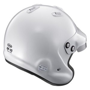 アライヘルメット GPJ3 8859 四輪用オープンジェットヘルメット ホワイト|star5|02