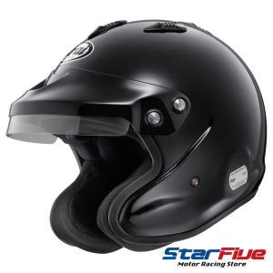 アライヘルメット GPJ3 XO 8859 四輪用オープンジェットヘルメット ブラック|star5|02