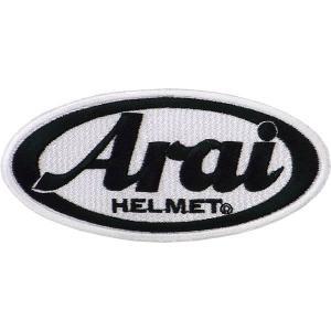 アライヘルメット エンブレムワッペン 6×12cm|star5