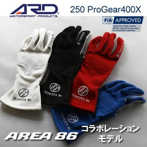 ARD レーシンググローブ 250 Progear-400X TOYOTA 86コラボレーションモデルFIA2000公認(生産終了モデル)|star5