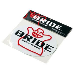 BRIDE ブリッド 楕円ステッカー バケモンマーク HS0003|star5