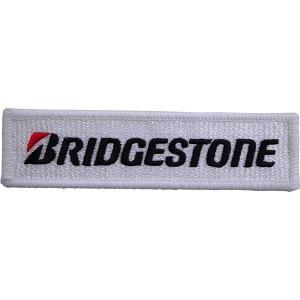 BRIDGESTONE(ブリヂストン)ワッペン Sサイズ 3cm×11cm|star5