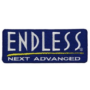 ENDLESS エンドレス ワッペンエンブレム ブルー 5cm×12cm|star5