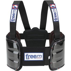 freem フリーム リブプロテクターベスト BRAVE カーボン レーシングカート用|star5