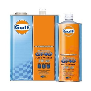ガルフ エンジンオイル アローGT40 5W-40 1L 化学合成油 Gulf ARROW star5