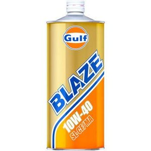 ガルフ エンジンオイル ブレイズ 10W-40 1L 鉱物油 Gulf BLAZE|star5