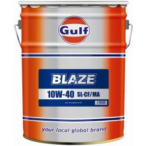 ガルフ エンジンオイル ブレイズ 10W-40 20L 鉱物油 Gulf BLAZE|star5