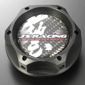 J'S RACING ジェイズレーシング SPL オイルフィラーキャップ ブラック|star5