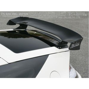 J'S RACING ジェイズレーシング CR-Z ZF1用 3D GT-WING WETカーボン star5