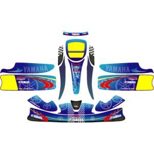 カウルステッカー T+Y KG-UNICO用 レーシングカートパーツ star5