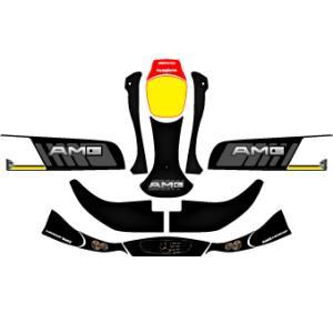 カウルステッカー CRG-AMG NA2用 レーシングカートパーツ|star5