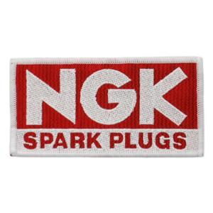 NGK(エヌジーケー)スクウェア型ワッペン 5cm×10cm|star5