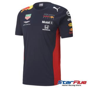プーマ レッドブルレーシング Tシャツ AMRBRチーム 2020年モデル PUMA RedBull|star5