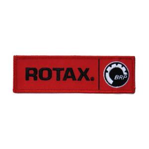 ROTAX ロタックス エンブレムワッペン Sサイズ 35×125mm|star5