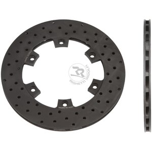 RR ブレーキディスク ベンチレ ーテッド ドリルド 210mm/12mm レーシングカートパーツ|star5