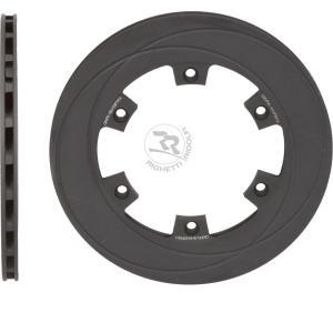RR ブレーキディスク ベンチレーテッド 210mm/12mm レーシングカートパーツ|star5