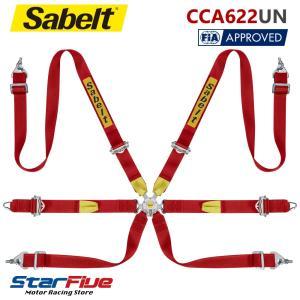 Sabelt サベルト シートベルト CCA622UN 6点式ハーネス ツーリングカー用 FIA8853-2016公認(2017年製造モデル)|star5
