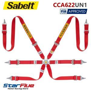 サベルト 6点式シートベルト CCA622UN1 ツーリングカー用 FIA公認 Sabelt star5