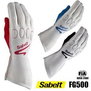 サベルト レーシンググローブ FG500 FIA2000公認|star5