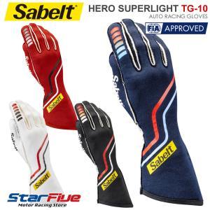 サベルト レーシンググローブ 4輪用 外縫い HERO TG-10 FIA2018公認 Sabelt|star5