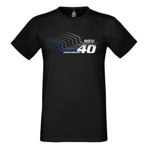 スパルコ Tシャツ 40th ブラック|star5