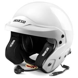 スパルコ ヘルメット エアプロRJ-5i オープンジェット ホワイト FIA8859-2015公認|star5|02