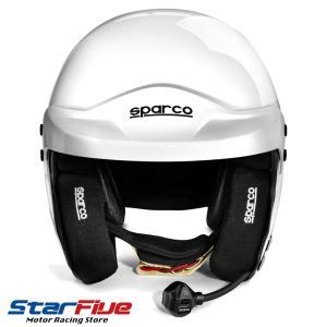 スパルコ ヘルメット エアプロRJ-5i オープンジェット ホワイト FIA8859-2015公認|star5|03