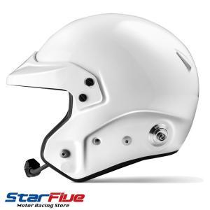 スパルコ ヘルメット エアプロRJ-5i オープンジェット ホワイト FIA8859-2015公認|star5|04