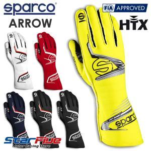 スパルコ レーシンググローブ 4輪用 外縫い ARROW (アロー) FIA 8856-2018公認  2020年モデル Sparco|star5