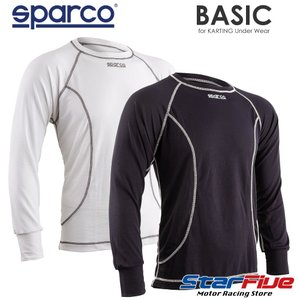 スパルコ アンダーウェア カート用 長袖シャツ KARTING BASIC (ベーシック) Sparco star5