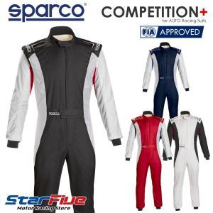 スパルコ レーシングスーツ 4輪用 COMPETITION+  FIA公認 Sparco(サイズ交換サービス)|star5