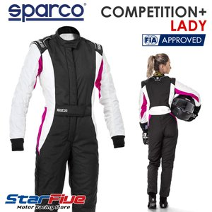 スパルコ レーシングスーツ 4輪用 COMPETITION+ LADY 女性ドライバー専用 FIA公認 Sparco|star5